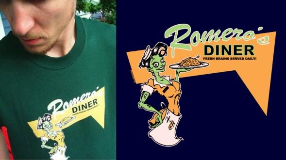 Romero Zombie T-Shirt