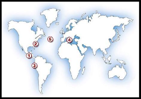 Zombie Outbreak Map