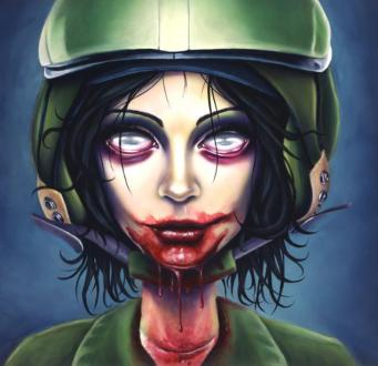 zombie flight girl