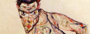 ZOMBIE SELF PORTRAIT by Egon Schiele