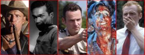 TOP SIX ZOMBIE HEROES OF ALL TIME
