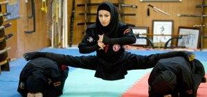 FEMALE ZOMBIE KILLING NINJAS OF IRAN