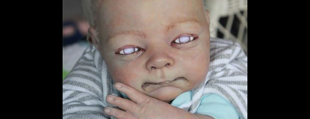 HIGH-END ZOMBIE BABY DOLLS