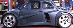FIAT 500 WITH LAMBORGHINI V12