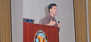 MAX BROOKS PREPARES ARMY FOR ZOMBIE DISASTER