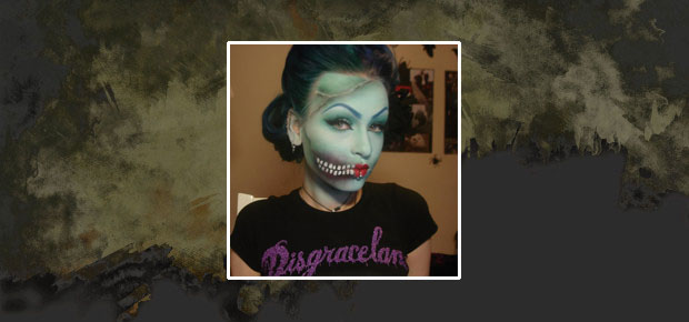 SEXY ZOMBIE PIN-UP MAKEUP TUTORIAL