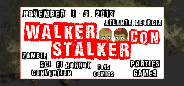 WALKER STALKER CONVENTION ANNOUNCED!