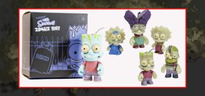 KIDROBOT ZOMBIFIES THE SIMPSONS