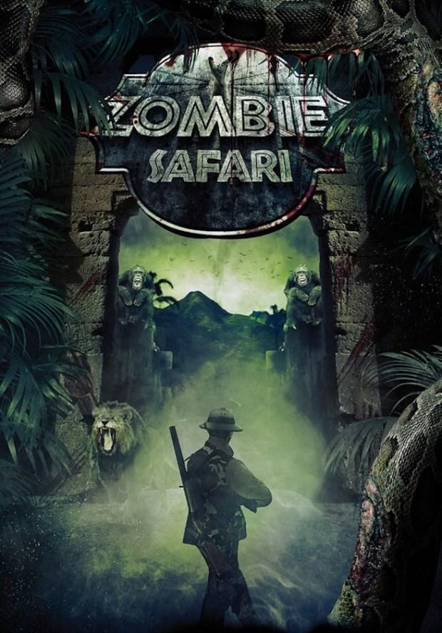 Zombie Safari Movie Poster