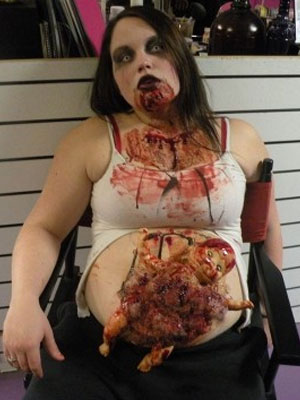 Pregnant-Zombie-14  sc 1 st  Zombie Research Society & 15 BEST PREGNANT ZOMBIE COSTUMES | Zombie Research Society