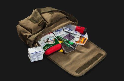 TWD Survival Kit Open