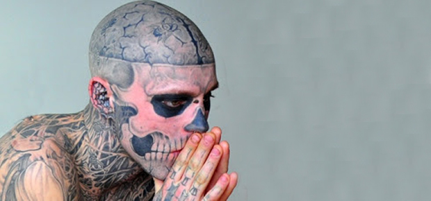 REAL LIFE ZOMBIE – RICK GENEST
