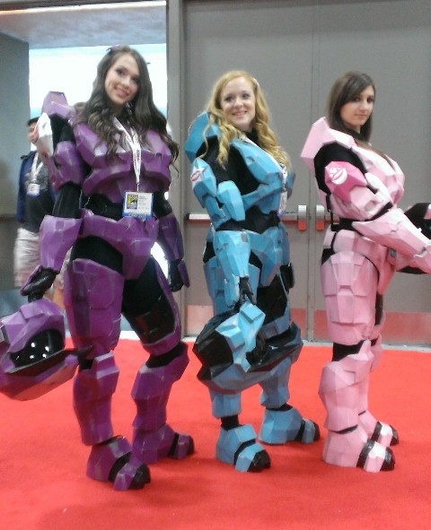 Lady Master Chiefs @ SDCC