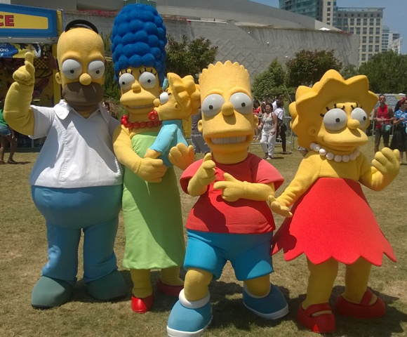 The Simpsons Cosplayers