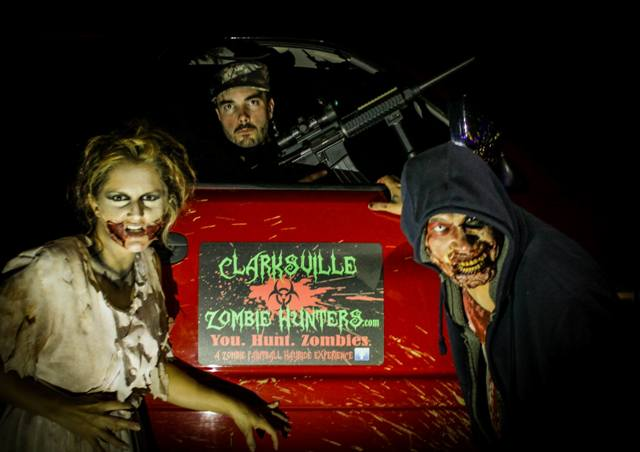 Photo courtesy of Clarksville Zombie Hunters