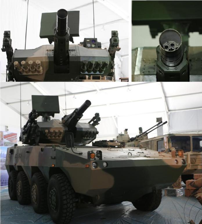 Versión de defensa aérea de corto alcance CS-SA5