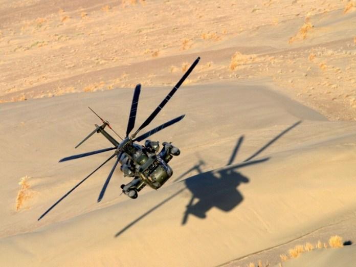 CH-53GS Sea Stallion operando en Afganistán. Imagen: Bundeswehr.