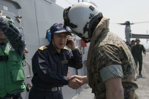 31st MEU Marines Support Government of Japan's Relief Efforts with MV-22B Osprey