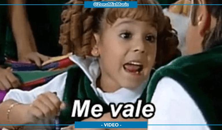 """Danna Paola recrea su meme """"Me Vale"""" y sus seguidores enloquecen (+VIDEO)"""