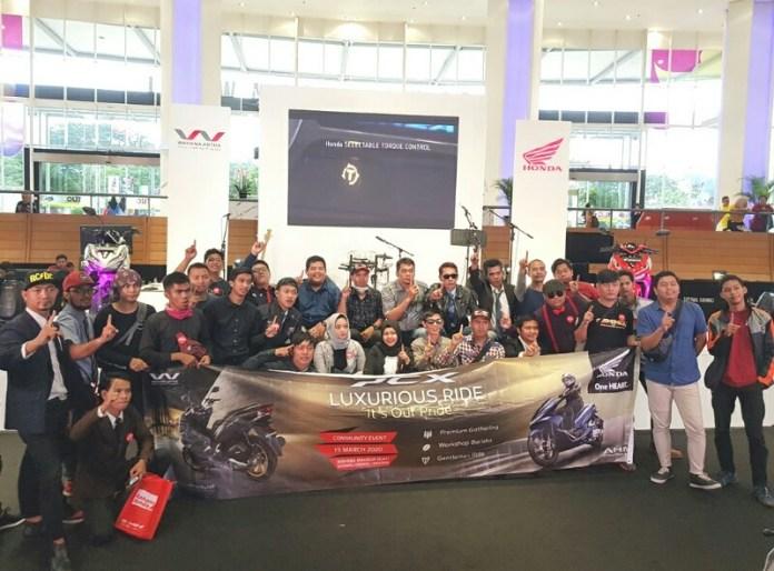 Komunitas Honda Jakarta-Tangerang