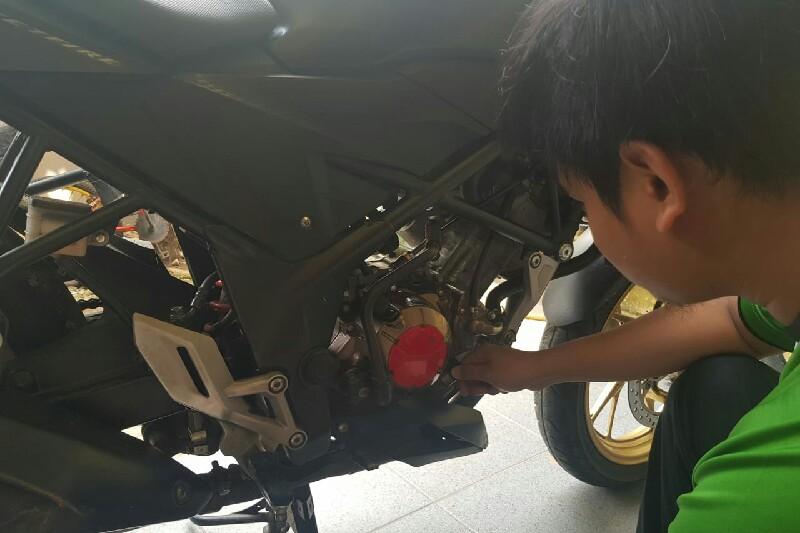 Perawatan Ringan Sepeda Motor