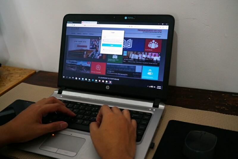 E-learning edukasi satu hati