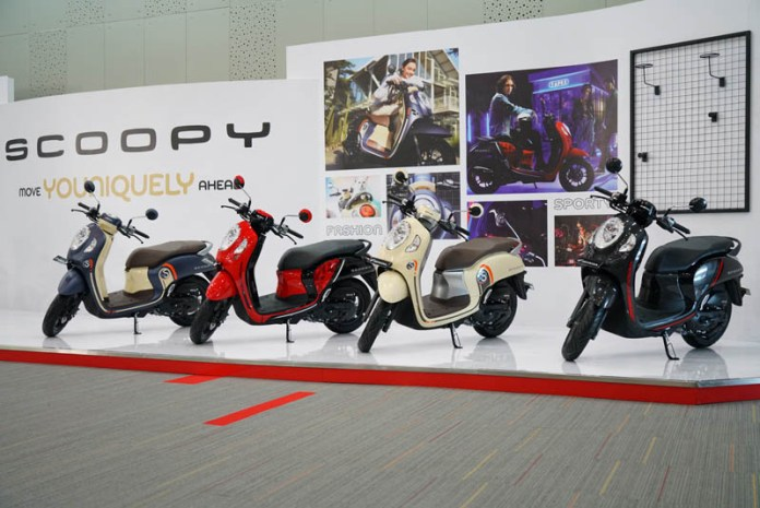 Fitur All New Scoopy