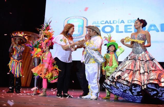 La primera gestora Alba Olaya, presente en el evento.