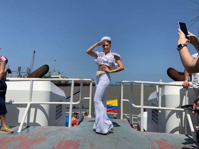 La Reina del Carnaval de Barranquilla, Isabella Chams Vega.