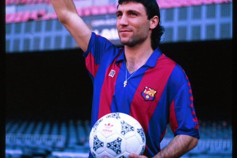 1990: Stoichkov arriva a Barcellona