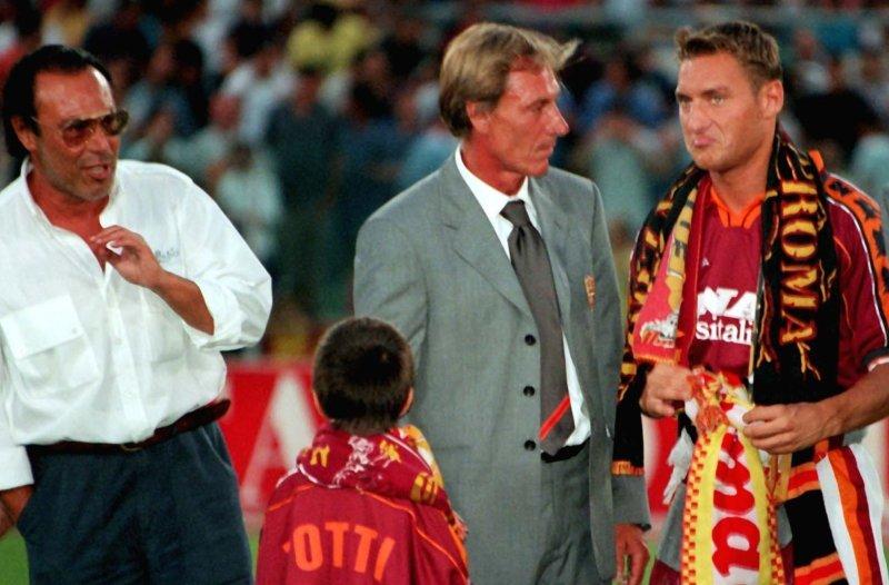 Antonello Venditti, Zdenek Zeman e Francesco Totti