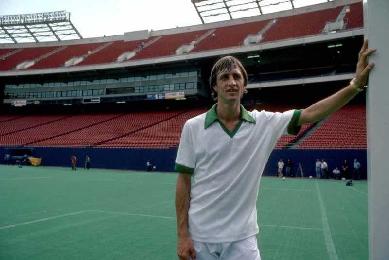 1979: Johan Cruyff al Giants Stadium di New York (Sporting Pictures)