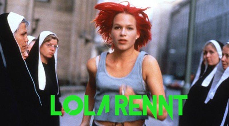 """Franka Potente in """"Lola Rennt - Lola corre""""."""