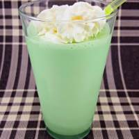 Shamrock Shake Copycat for two in a glass