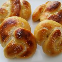 Four Soft Pretzels for Two - soft and delicious