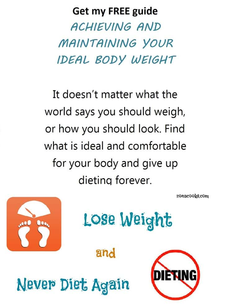 Find YOUR Ideal Body Weight, Never Diet Again