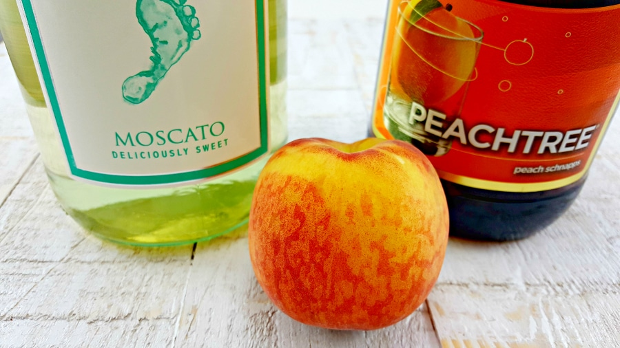 Peach Sangria - ingredients