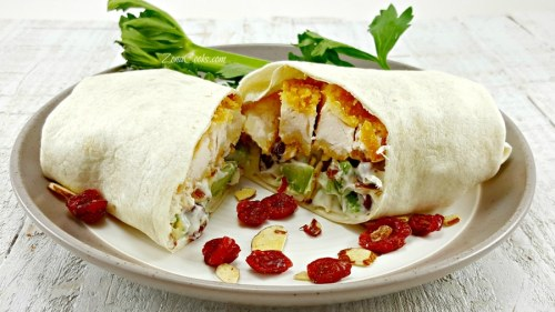 Chicken Salad Wraps for Two - delicious and filling!