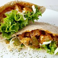 Italian Pita Pockets Recipe for Two - delicious date night dinner!