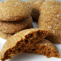 Soft Gingerbread Cookies Small Batch Recipe - makes 12 cookies