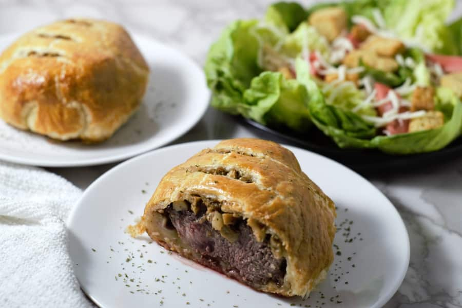 Individual Beef Wellington Recipe for Two - easy and impressive date night dinner!