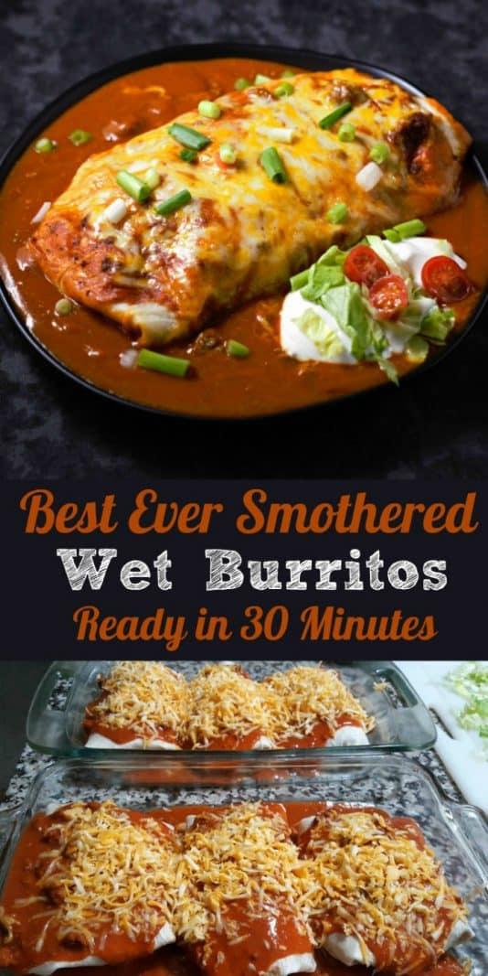 Best Ever Smothered Wet Burritos Recipe • Zona Cooks
