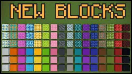 Minecraft 1.12 nuevos bloques