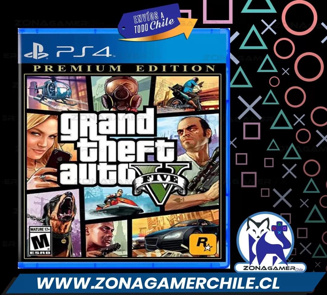 Grand Theft Auto V Premium Online Edition para PS4
