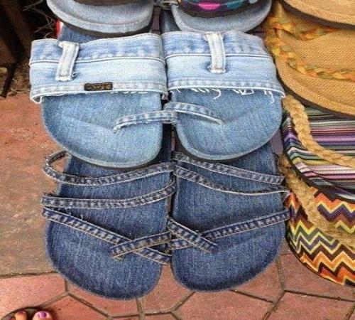 sandal jeans bekas