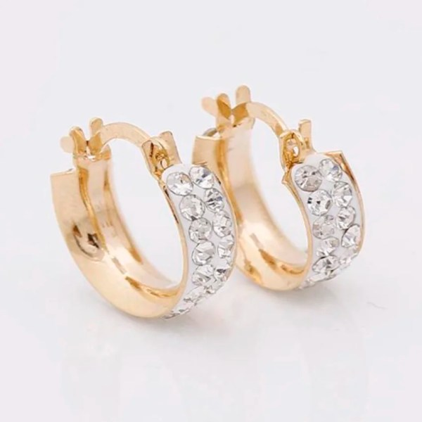 Candongas para mujer en Oro Gold Filled