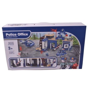 Lego didáctico Police office 203 pcs