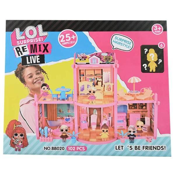 Castillo LOL remix para niñas