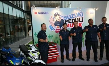 Suzuki Peduli mudik 2018