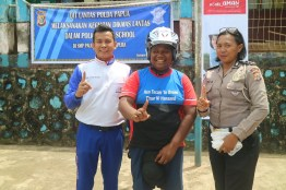 CSR_Safety Riding Astra Motor Papua Goes to School 2018